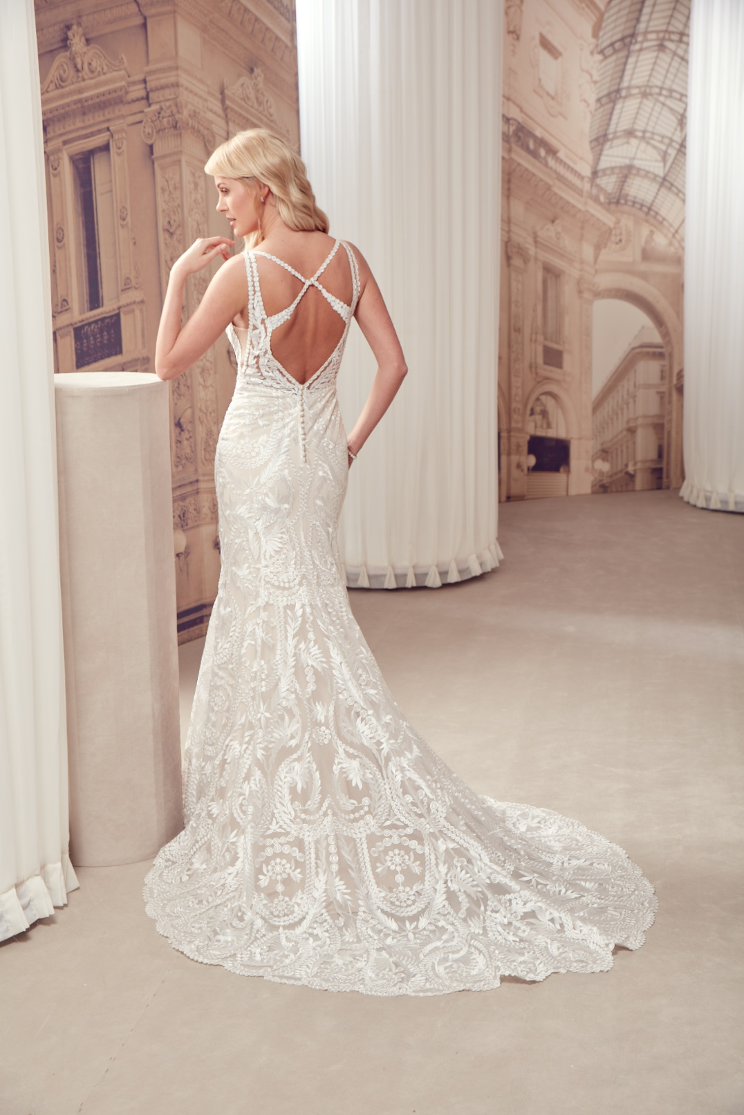 Milano by Eddy K - Brautkleid MD272