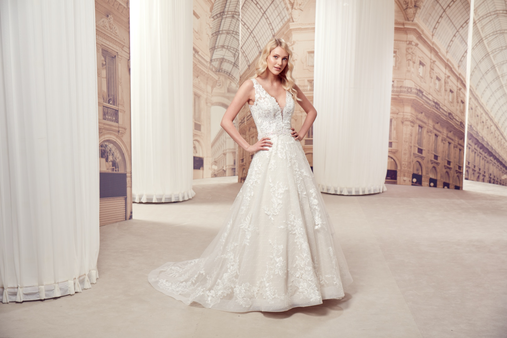 Milano by Eddy K - Brautkleid MD276