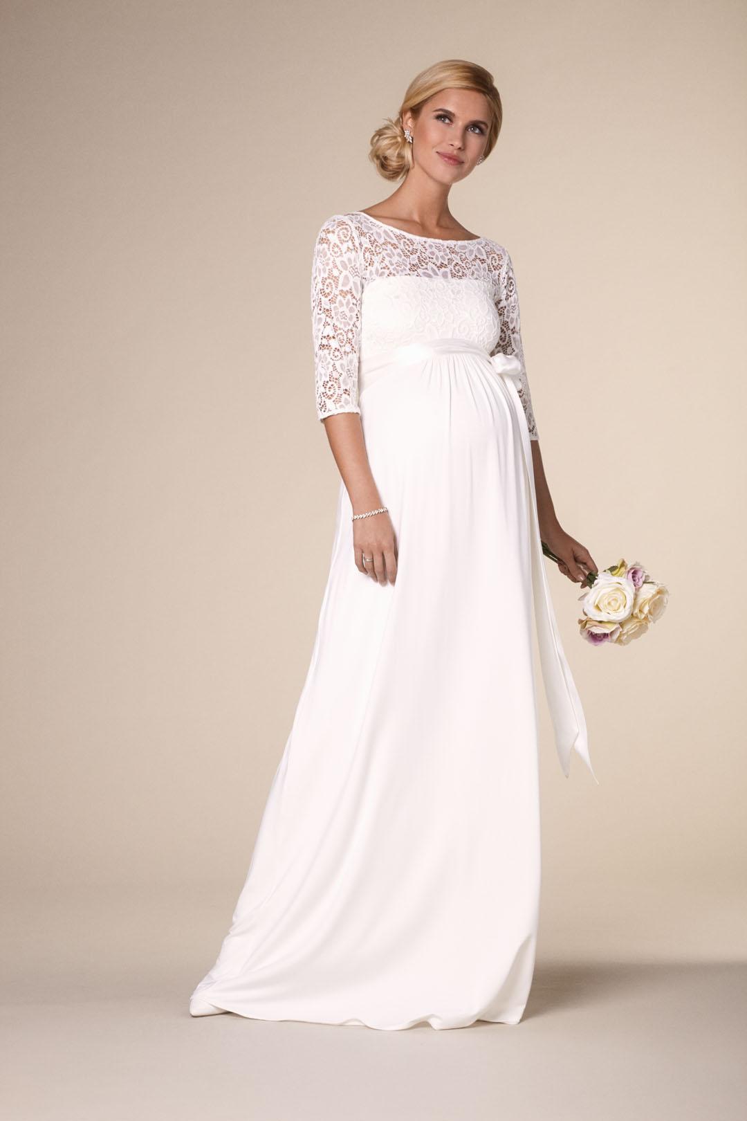 Brautkleider für Schwangere - Kollektion 19 bei Bösckens in Erkelenz