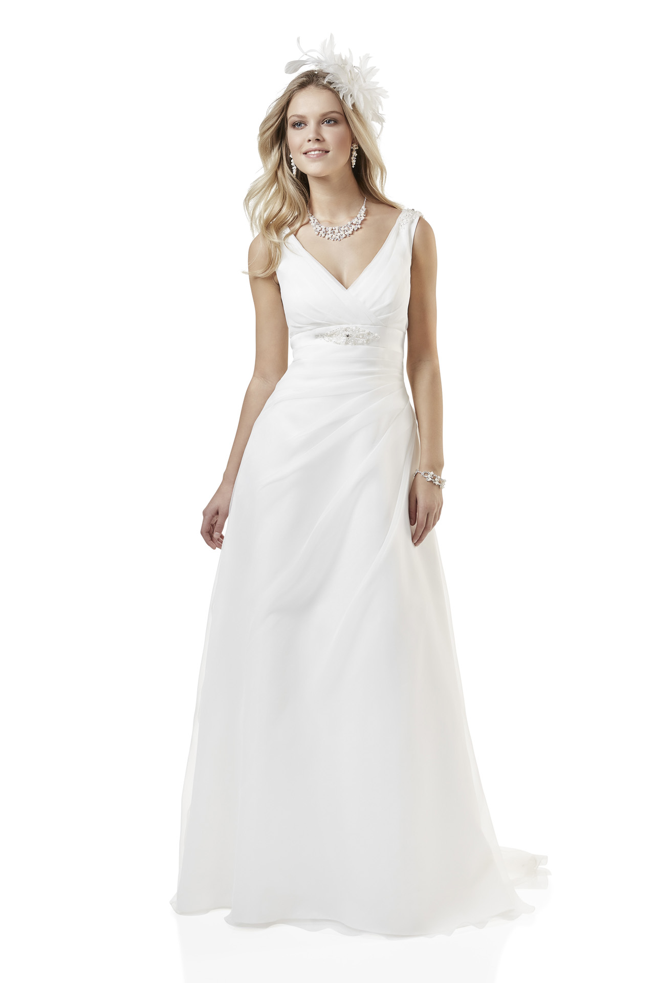 Brautkleid Weise Essentials Kollektion 2018 Modell 334342