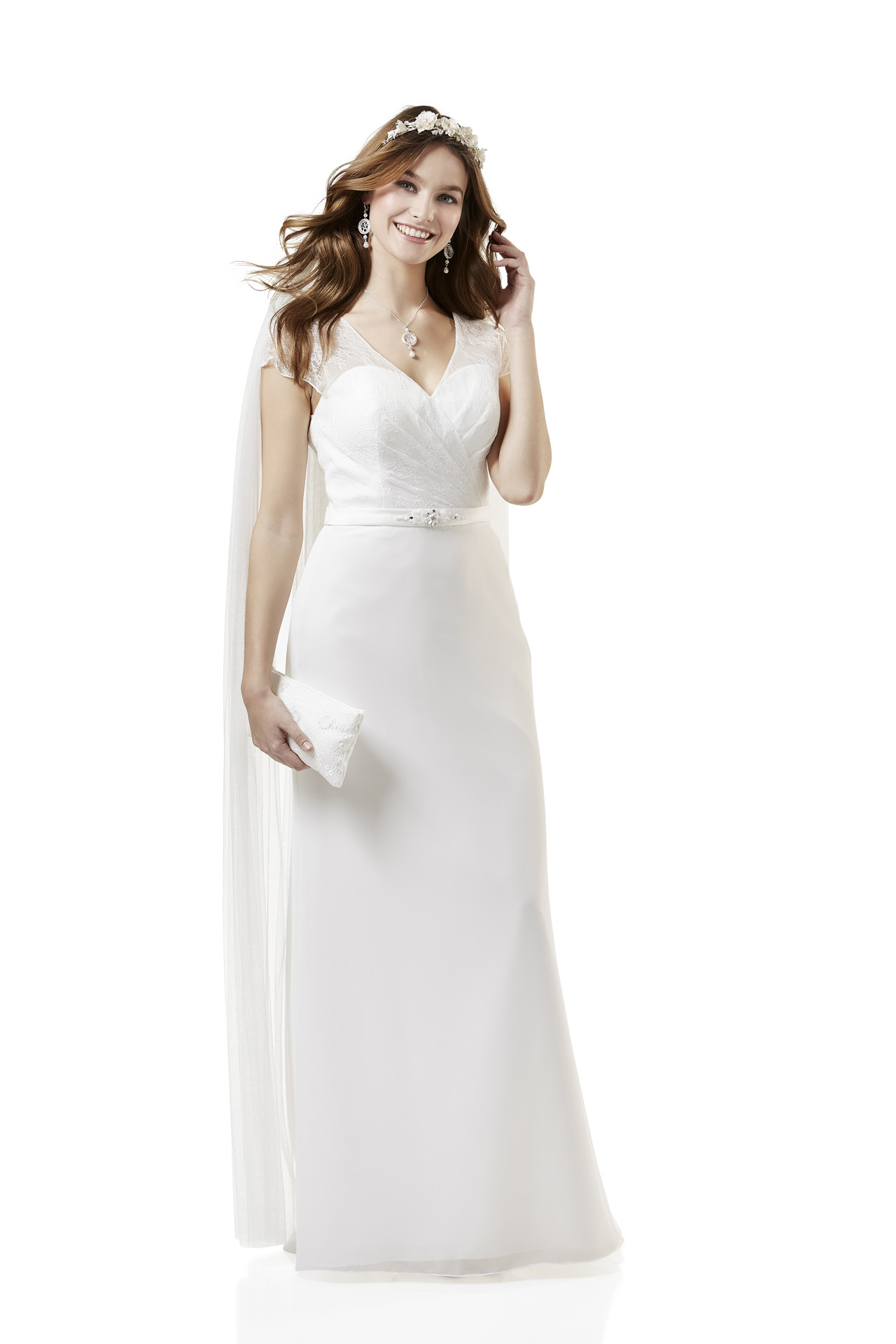 Brautkleid Weise Essentials Kollektion 2018 Modell 334362