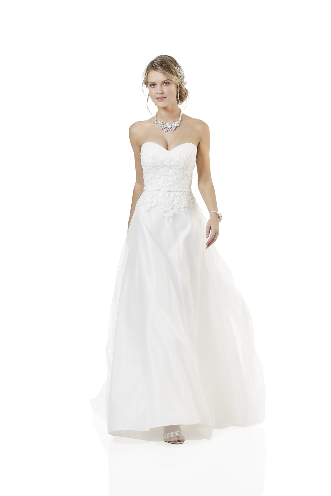 Brautkleid Weise Essentials Kollektion 2018 Modell 334462